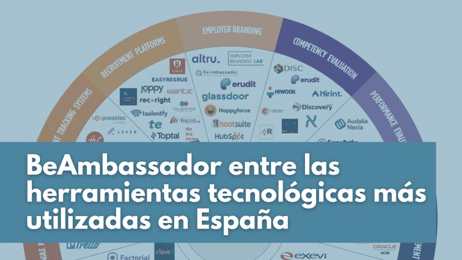 BeAmbassador es una de las herramientas tecnológicas más utilizadas en España