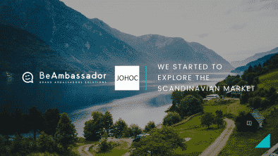 BeAmbassador has reached an agreement with the Swedish consulting firm JOHOC
