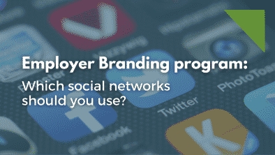 Which social networks to use in an employer branding program